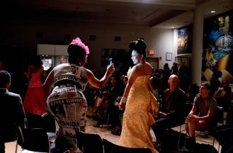 The 2015 Inaugural LGBT Fashionweek fashion show case.