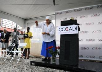 CCADI Groundbreaking ceremony